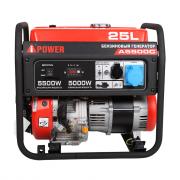 Портативный бензиновый генератор A-iPower A5500C