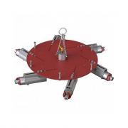 Трамбовка пневматическая для бокового уплотнения футеровки 6-ти головочная BLG-006 (D=1500-2200 мм)