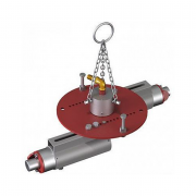 Трамбовка пневматическая для бокового уплотнения футеровки 2-х головочная BLG-002 (D=350-600 мм)