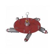 Трамбовка пневматическая для бокового уплотнения футеровки 5-ти головочная BLG-005 (D=1250-1650 мм)