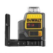 Cамовыравнивающийся линейный КРАСНЫЙ лазерный уровень DEWALT DCE0811NR