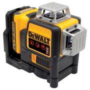 Самовыравнивающийся линейный КРАСНЫЙ лазерный уровень DEWALT DCE089D1R