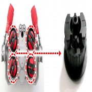 Комплект быстроизнашивающихся частей для крепления приводных роликов EWM DV X