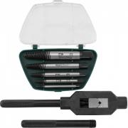 AG010110 Набор экстракторов спиральных конических с держателем, 7 предметов Jonnesway