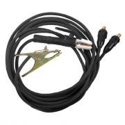 Комплект кабелей КЕДР 5м, на 300А, (Germany type) 35-50/1*25 [7180003]