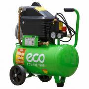 Компрессор ECO AE-251-4 (260 л/мин, 8 атм, коаксиальный, масляный, ресив. 24 л, 220 В, 1.80 кВт)