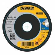 Круг отрезной по металлу DEWALT DWA8062SIA