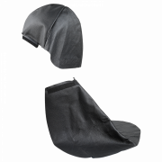 Накладка кожаная для защиты головы и шеи (натуральная кожа)