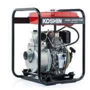 Дизельная мотопомпа для загрязненных вод Koshin SEY-80D