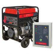 Бензиновый генератор Fubag BS 11000 DA ES + Блок автоматики Startmaster BS 6600 D [838790.12]