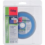 Алмазный отрезной диск Fubag Keramik Pro D125 мм/ 22.2 мм [13125-3]