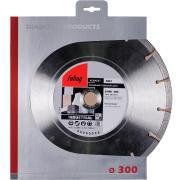 Алмазный отрезной диск Fubag AW-I D300 мм/ 25.4 мм [58126-4]