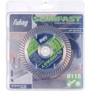 Алмазный отрезной диск Fubag Slim Fast D115 мм/ 22.2 мм [80115-3]