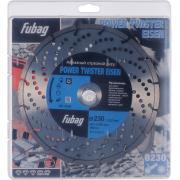 Алмазный отрезной диск Fubag Power Twister Eisen D230 мм/ 22.2 мм [82230-3]