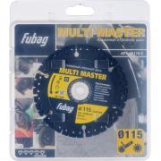 Алмазный отрезной диск Fubag Multi Master D115 мм/ 22.2 мм [88115-3]