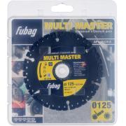 Алмазный отрезной диск Fubag Multi Master D125 мм/ 22.2 мм [88125-3]