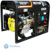 Электрогенератор DY6500LXW с функцией сварки, с колёсами Huter