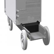 Ящик с инструментами между газовым баллоном и задней стенкой корпуса EWM ON Tool Box