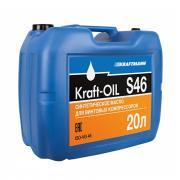 Масло компрессорное KRAFT-OIL S46/20л
