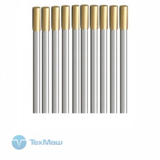 Вольфрамовые электроды D1.6x175мм (gold)_WL15 (10 шт.)