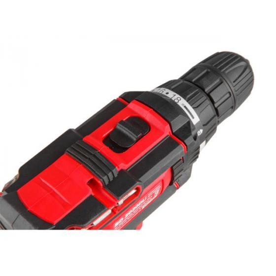 Аккум. дрель-шуруповерт WORTEX BD 2020 DLi в чем. (18.0 В, 2 акк., 2.0 А/ч Li-Ion, 2 скор., 29 Нм, шурупы до 9 мм) (BD2020DLi1706)