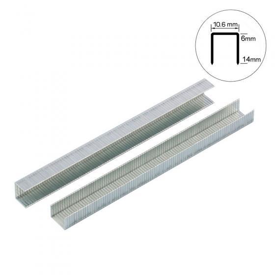 Скоба тип 140-8 мм Gross для степлера усиленная, 1250 шт