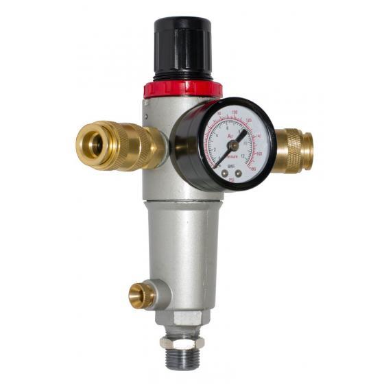 Фильтр с регулятором давления FR-003 с манометром 0-12 бар (наружная резьба 3/8