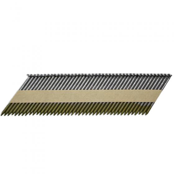 Реечные гвозди 34 градуса 2.87x50 мм ершеные / 3000 шт // ТехМаш