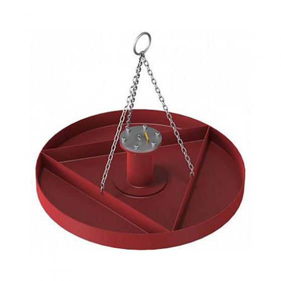 Трамбовка пневматическая для донного уплотнения футеровки BLG-001 (D=630 мм)