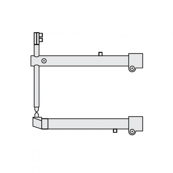 Комплект плечей O 45 х 800мм прямые c уменьшенным электрододержателем для серии RSV Fubag [31112]