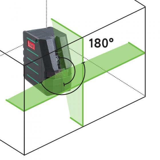 Лазерный уровень Crystal 20G VH Set c зеленым лучом Fubag
