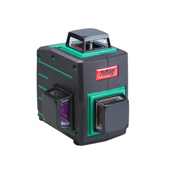 Лазерный 3D уровень с зеленым лучом Pyramid 30G V2х360H360 Fubag