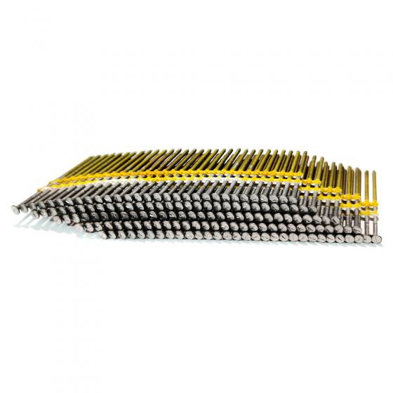 Реечные гвозди R20 31x90 BK RING // BeA / 3000 шт