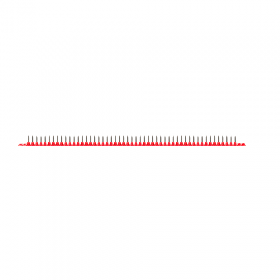 Саморез в ленте, частый шаг 3,5х25 (1000шт/уп)