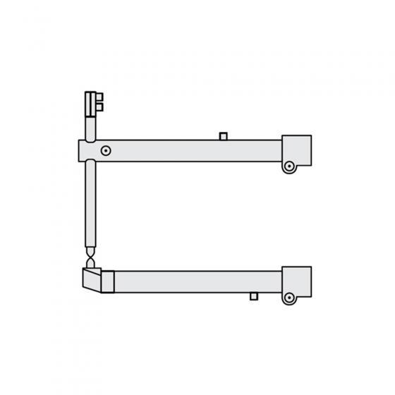 Комплект плечей O 40 х 700мм прямые c уменьшенным электрододержателем для серии RS Fubag [38946]