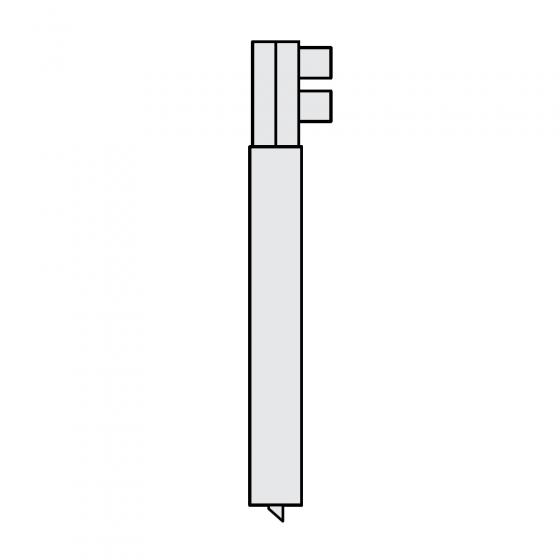 Держатель электрода O 25 х 185мм для RS 35i, серии RSV Fubag [38972]