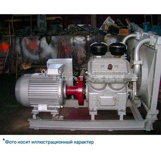 Компрессор 4ВУ1-5/9-M4 (модификация с электродвигателем и на общей рамы)