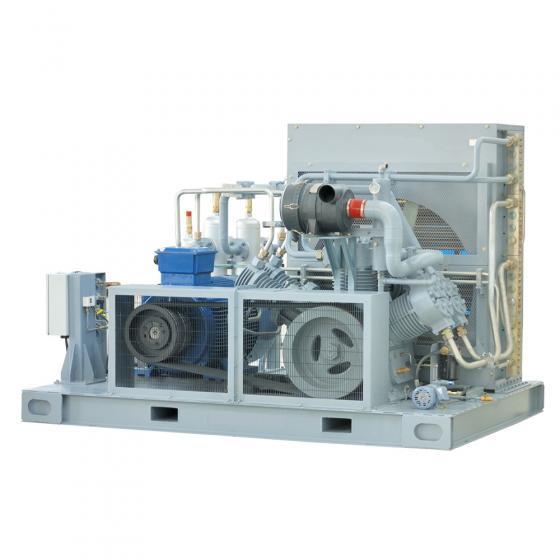 Промышленный компрессор высокого давления FROSP КВД 5000/250