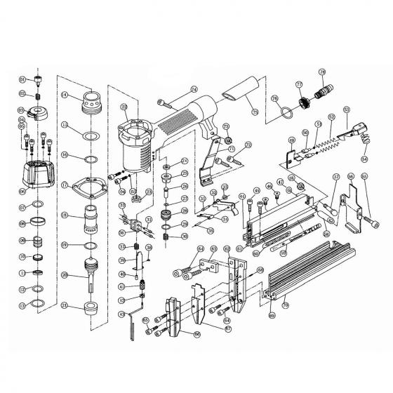 Амортизатор (№21) для FROSP F5040
