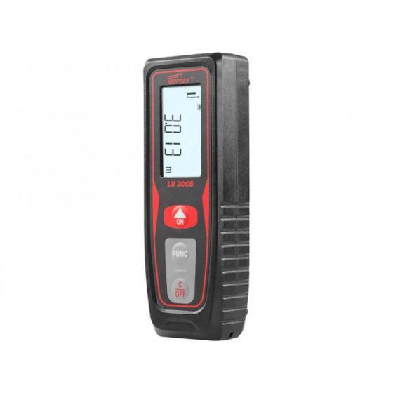 Дальномер лазерный WORTEX LR 3005 в кор. (0.05 - 30 м, +/- 1,5 мм/м,) (LR30050008)