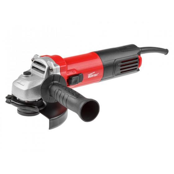 Одноручная углошлифмашина WORTEX AG 1208-1 в кор. (800 Вт, диск 125х22 мм) (AG1208100019)