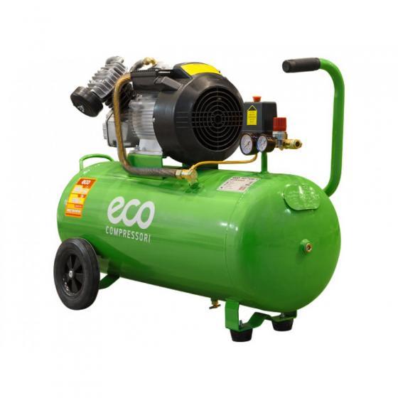 Компрессор ECO AE-705-3 (440 л/мин, 8 атм, коаксиальный, масляный, ресив. 70 л, 220 В, 2.20 кВт)
