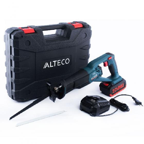 Аккумуляторная сабельная пила Alteco CRS 1820 Li