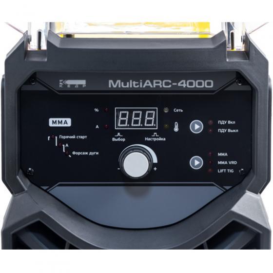 Сварочный инвертор MultiARC-4000 КЕДР