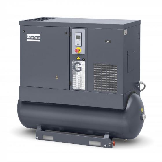 Винтовой компрессор Atlas Copco G11 7.5FF на 270 литров