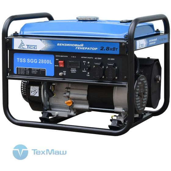 Бензогенератор TSS SGG 2800L