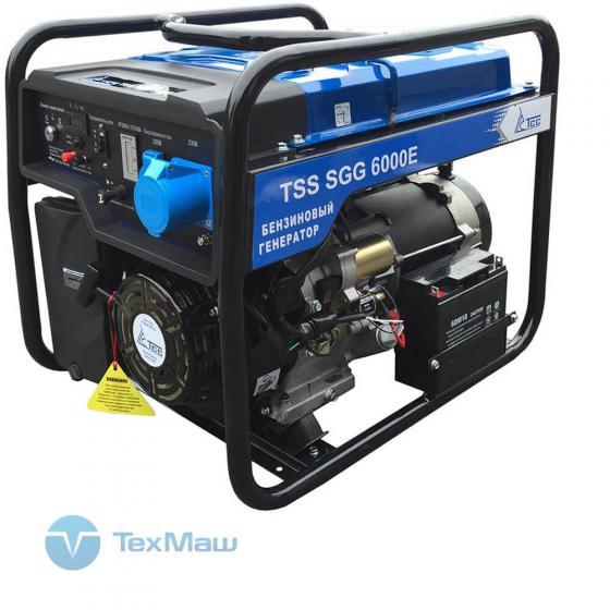 Бензогенератор TSS SGG 6000 E