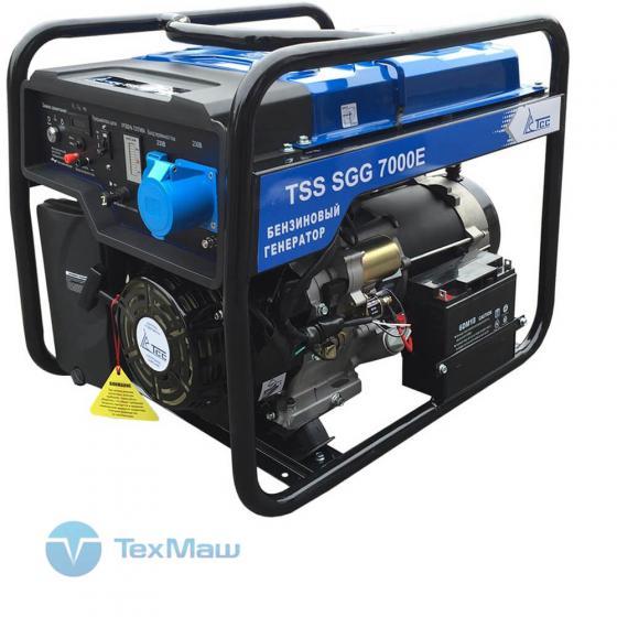 Бензогенератор TSS SGG 7000 E