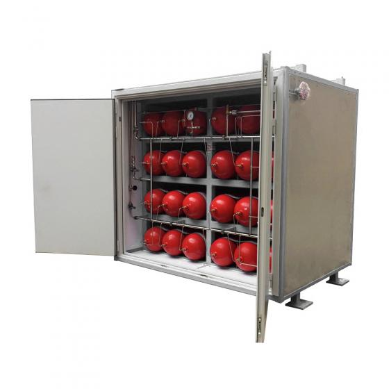 Блок аккумуляторов газа (БАГ)