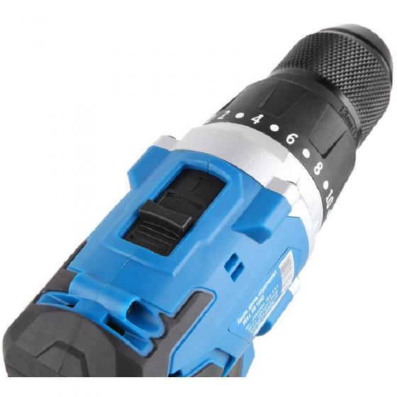 Аккум. дрель-шуруповерт BULL SR 1802 в чем. (18.0 В, 2 акк., 4.0 А/ч Li-Ion, 2 скор., 80 Нм, шурупы до 10 мм) (04040329)
